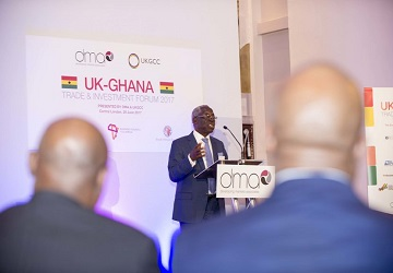 EMH Global at UK-Ghana Trade and Investment Forum 2017