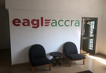 The EAGLE has landed in Accra