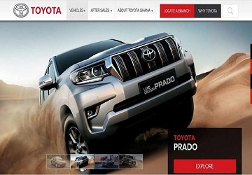 Eagle launch new website for Toyota Ghana