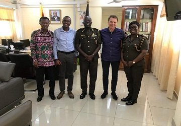 The Eagles in Ghana May 2019