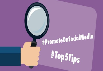 5 Social Media Tips to Promote your Next Event