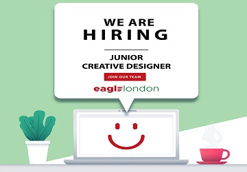 Junior Creative Designer Job OpportunityS