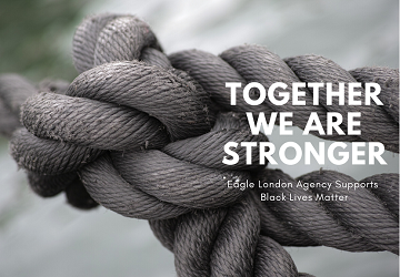 Together we are stronger: Eagle London Agency Supports Black Lives Matter