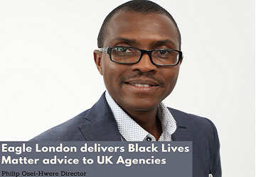 Eagle London delivers BLM advice to Agencies – Philip Osei-Hwere
